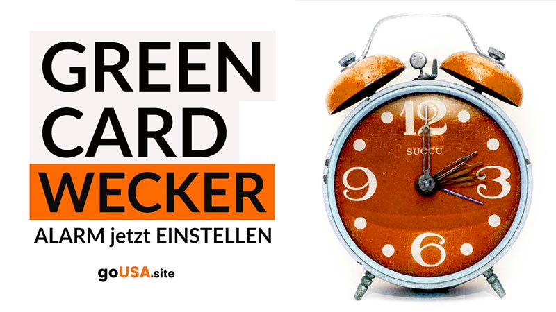 Green-Card-Wecker-goUSA