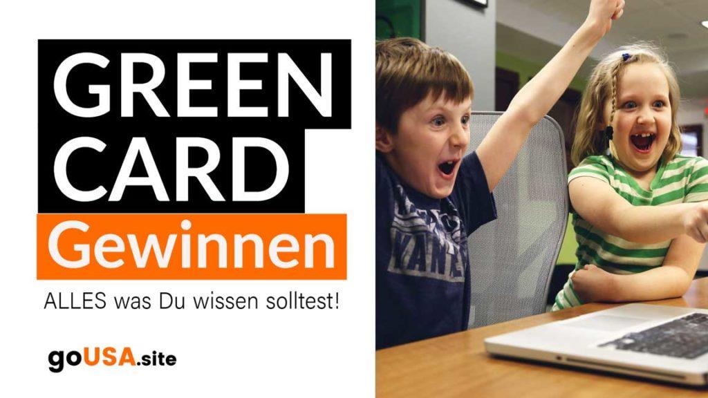 Greencard gewinnen USA