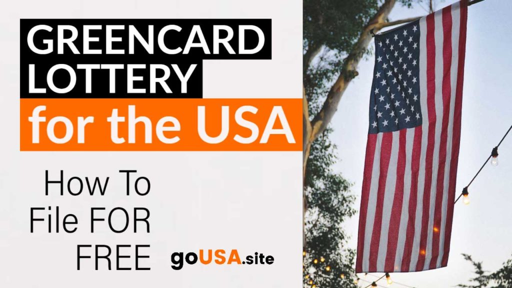 How To File for the US Greencard Lottery for Free